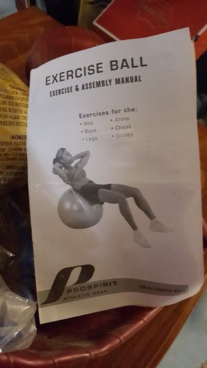 Exercise ball for Sale in Webster, NY