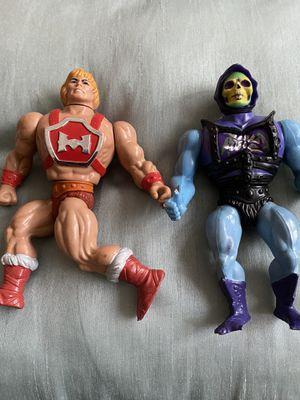 He-man and Skeletor Action Figures for Sale in Aldie, VA