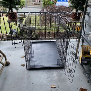 Large Wire Dog Crate for Sale in Lakewood, WA