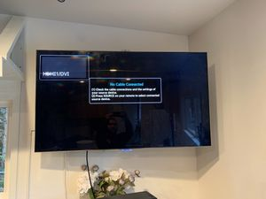 55 inch Samsung tv hd Comes with Amazon stick for Sale in Lynnwood, WA