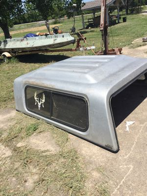 F250 Camper Shell Length 7ft Width 6ft for Sale in Wylie, TX