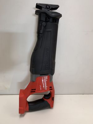 MILWAUKEE M18 FUEL CORDLESS RECIPROCATING SAW ZALL NO BATTERY OR CHARGER INCLUDED TOOL ONLY SOLO LA HERRAMIENTA for Sale in San Bernardino, CA