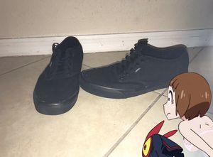 Black vans shoe size 13 for Sale in Port St. Lucie, FL