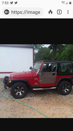 '03 Jeep Wrangler for Sale in Willis, TX