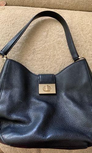 Kate spade black leather medium tote for Sale in Spring Valley, CA