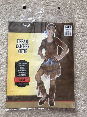 Girl's Costume - Dream Catcher Cutie/Native American/Indian for Sale in Irvine, CA