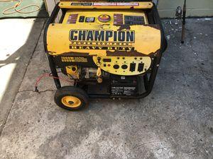 7000 watt generator works great for Sale in St. Petersburg, FL