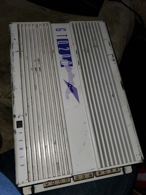 Older Amp works great Gt Q200 jbl amp for Sale in Puyallup, WA