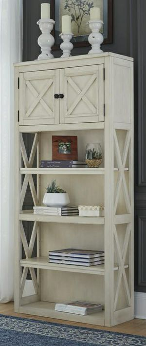 👏🎈 best offer 👇🎈Bolanburg White/Oak Large Bookcase for Sale in Houston, TX
