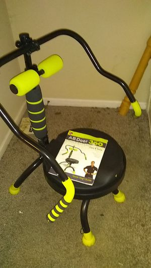The AbDoer 360 core toning equipment w/instructions for Sale in Lynchburg, VA