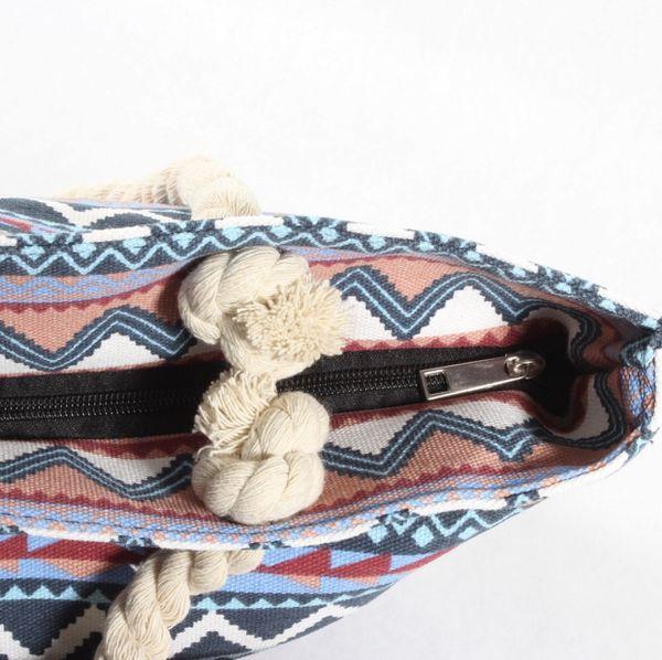 Womens Tote Hobo Canvas Printed Rope Handle Bag Beach Bag Gym Bag Baby Diaper Bag Purse Handbag Brand NEW