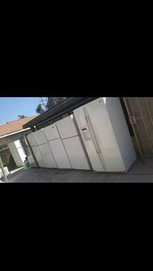 Fridges fridge refrigerator appliances stove 220 for Sale in Colton, CA