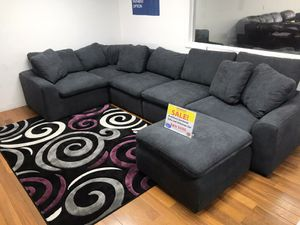 WE ARE OPEN! COMFY NEW AVENTURA SECTIONAL SOFA AND OTTOMAN SET ON SALE ONLY $699. SAME DAY DELIVERY. NO CREDIT NEEDED FINANCING!! for Sale in Tampa, FL