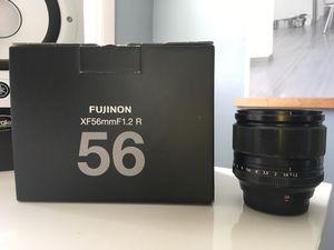 Fujinon 56mm XF F1.2 R Lens for Fujifilm Digital Camera for Sale in San Diego, CA