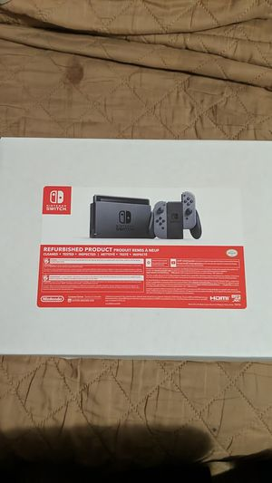 Like new Nintendo refurbished Nintendo switch console for Sale in Vallejo, CA