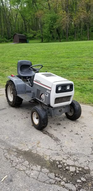 White Yard Boss GT-2055 Garden Tractor with Attachments for Sale in Harrison City, PA