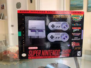 Super Nintendo. Classic Edition for Sale in Miami, FL