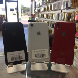 iPhone XR (64GB ) | Unlocked 🔓| 30 Days warranty✅ | All colors Available ❗️| Like New for Sale in Tampa, FL