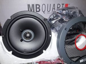 M B quart true 6.5 inch Nice!!! $55 a pair for Sale in Los Angeles, CA