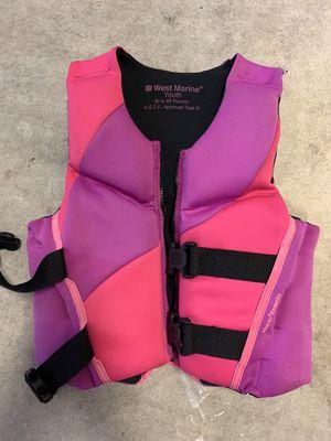 Girls neoprene life jacket for Sale in Carrollton, VA