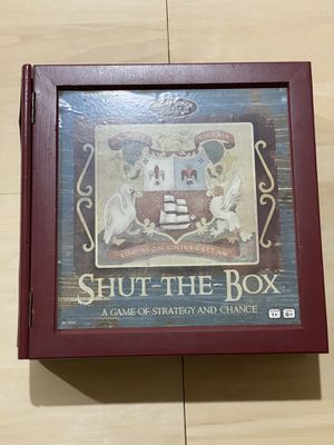 Shut-The-Box A Game Of Strategy And Chance for Sale in Falls Church, VA