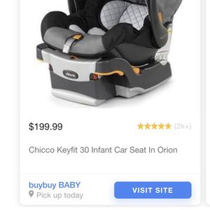 Chicco KeyFit30 Infant Car Seat And Base for Sale in West Bloomfield Township, MI