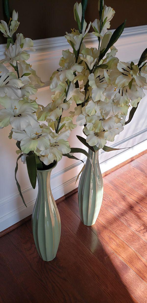 Beautiful green vase