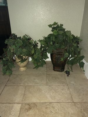 Fake potted plants for Sale in St. Petersburg, FL