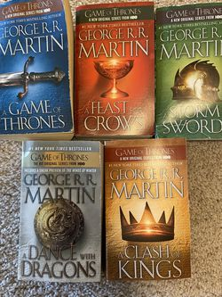 Game Of Thrones Book Series for Sale in Woodbridge Township,  NJ