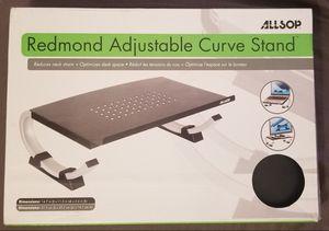 Allsop Notebook/Laptop Stand - Redmond Adjustable Curve - Black for Sale in Huntington Beach, CA