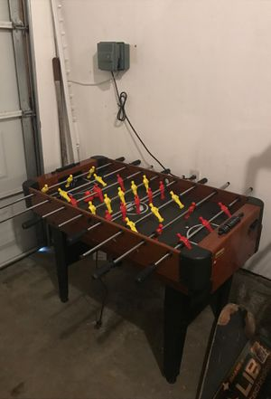 ALL IN ONE FOOSBALL, PING PONG, AND AIR HOCKEY TABLE. NEEDS PICK UPP for Sale in Los Angeles, CA