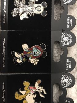 First release stamped pin set nightmare before Christmas for Sale in Irvine,  CA