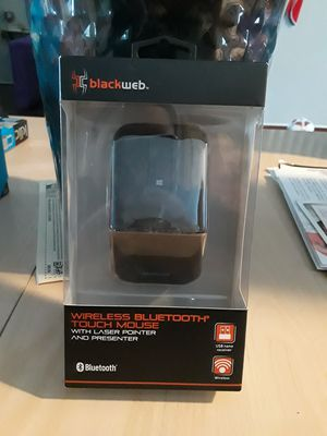 Blackweb Wireless touch bluetooth mouse for Sale in Houston, TX