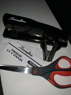 Swingline Metal Stapler +Scotch Scissors for Sale in Pasadena, CA
