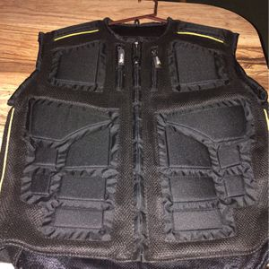 Brand New Padded Motorcycle Riding Vest Never Wore Size XL for Sale in Tampa, FL