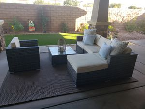 Beautiful 4 piece outdoor furniture set for Sale in Mesa, AZ