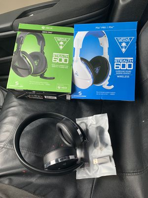 TURTLE BEACH STEALTH 600 FOR BOTH (XBOX & PS4) AND PS4 GOLD HEADSET for Sale in Kissimmee, FL