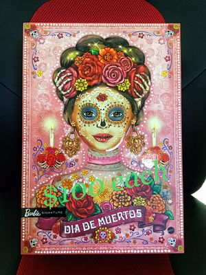 New Dia De Los Muertos Day of the Dead Barbie Doll Pink for Sale in Covina, CA