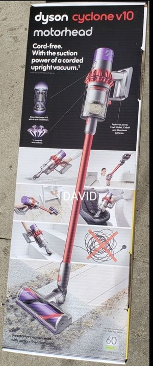 Dyson cyclone v10 motorhead cordless stick vaccum aspiradora inalambrica dyson for Sale in Los Angeles, CA