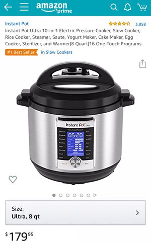Instant Pot for Sale in Buckeye, AZ