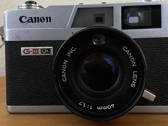 CLA'd Film Tested Canon Canonet QL17 GIII With New Light Seals for Sale in Arlington,  TX