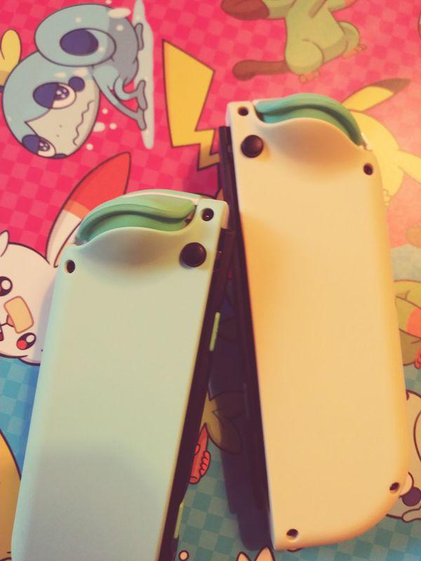 Nintendo Switch Custom Animal Crossing Joy Cons! for Sale ...
