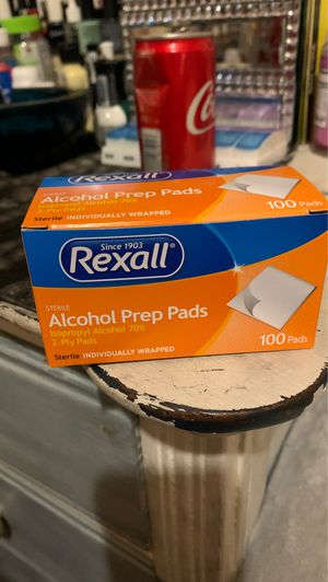 Rexall Alcohol Prep Pads for Sale in Avis, PA