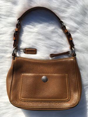 Coach Purse Tan Leather for Sale in Tacoma, WA
