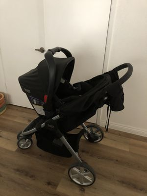 Britax be agile stroller, infant car seat and bases for Sale in Encinitas, CA