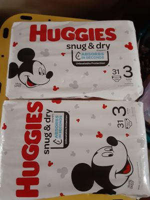 Huggies size 3 for Sale in Catonsville, MD