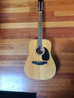12 string Acoustic Alvarez Guitar for Sale in Snohomish,  WA