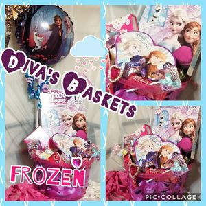 FROZEN Valentine Gift Baskets for Sale in Laredo, TX