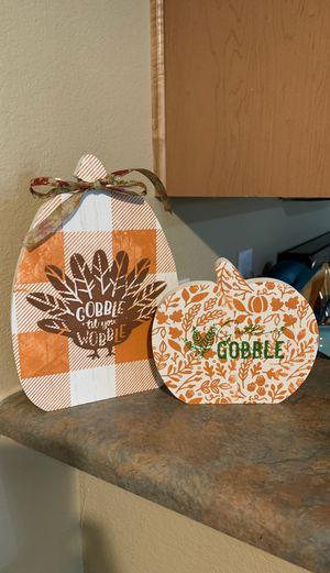 Wooden pumpkins for Sale in Flagstaff, AZ