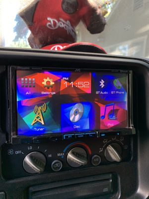 "JVC 7"" inch Bluetooth radio for Sale in San Bernardino, CA"